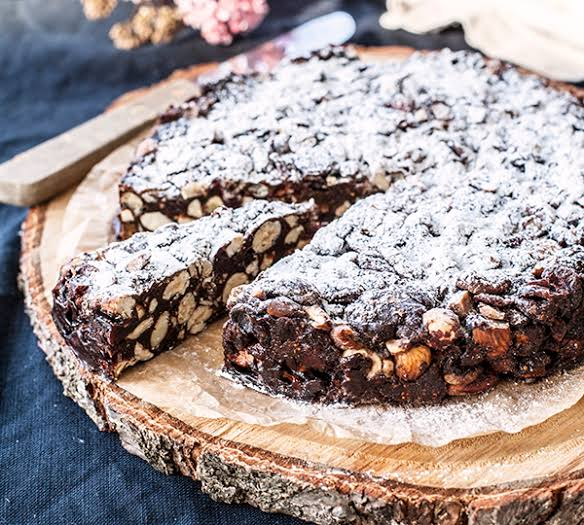 Annabel Langbein's wonderful rich panforte.
