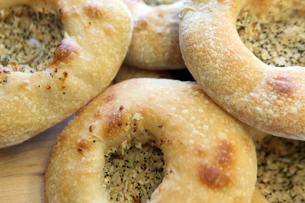 The traditional bialy